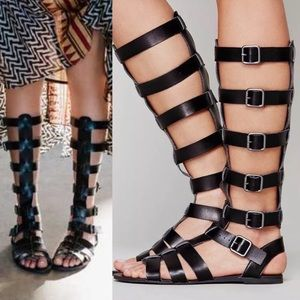 Free People Gladiator Sandals. Size 8